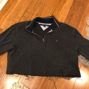 Cropped Tommy Hilfiger quarter zip